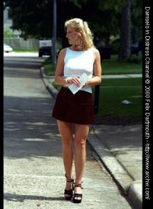 Handcuffed and leg-ironed in suburbia
