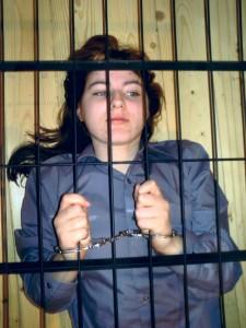 Female Prisoner - punishment crib