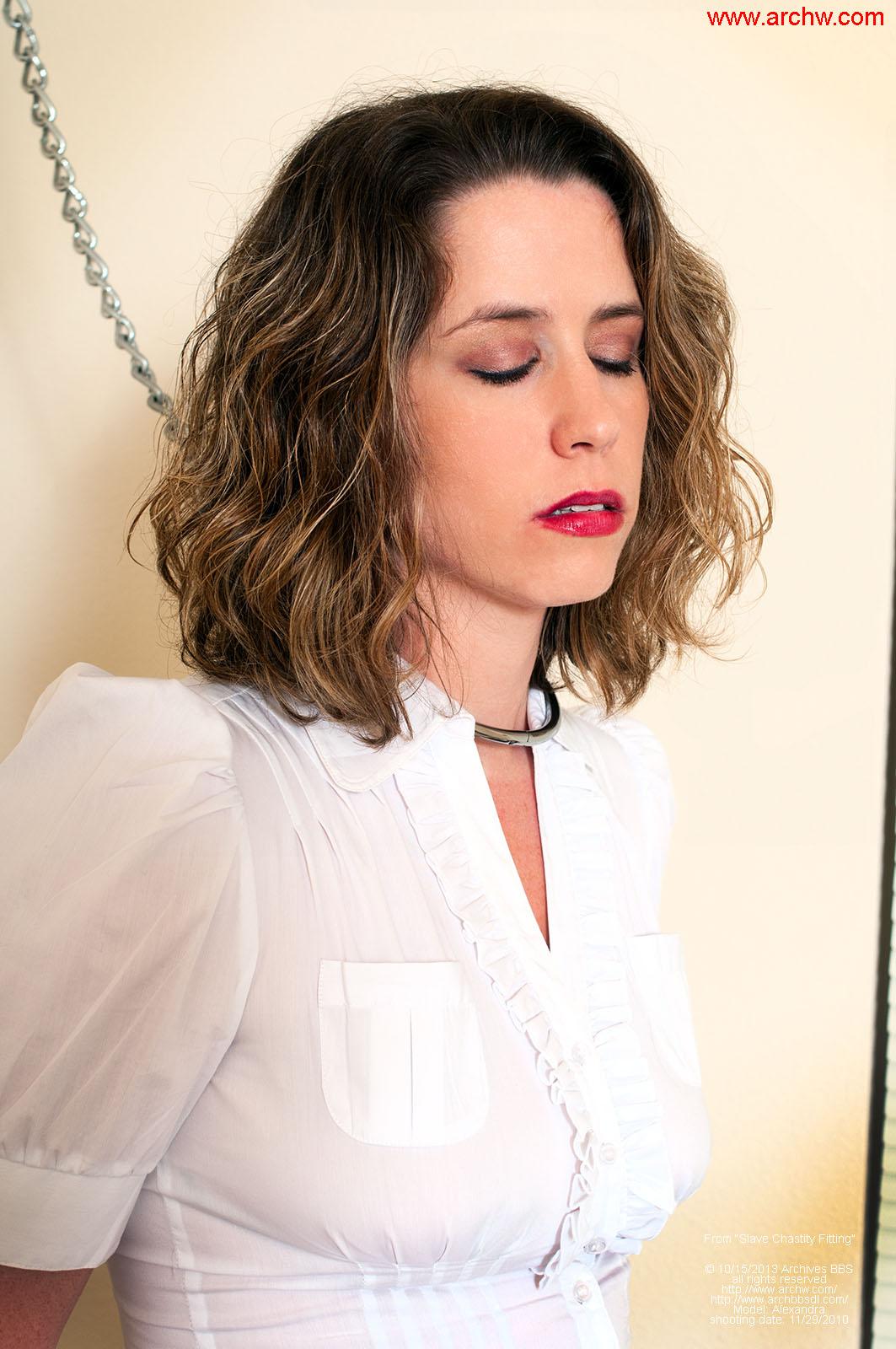 Video chastity bondage