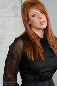 Angela Orlando, handcuffed